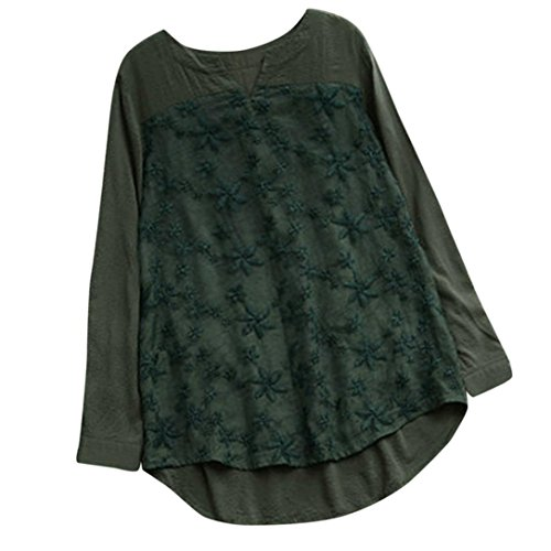 CUCUHAM Flowy Ladies Going Out Burgundy Shirt Womens Pink Cute White Shirts top Long Blouse Evening Navy Shoulderless Green Light Blue Satin Choker Sale(Green , US:6/CN:S)