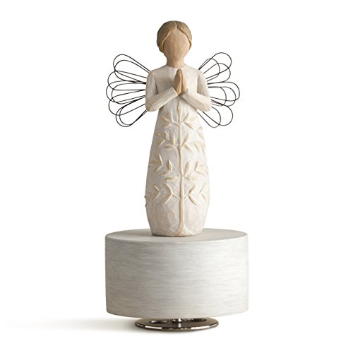 Willow Tree a tree, a prayer Musical, sculpted hand-painted musical - Angel Figurine Music