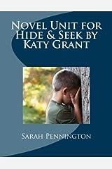 Novel Unit for Hide & Seek by Katy Grant Paperback