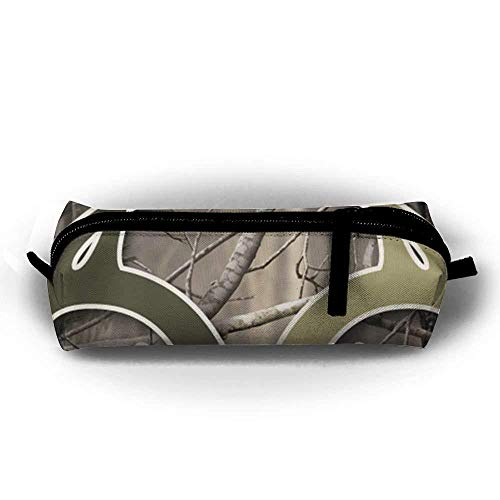 Realtree Camo Wallpapers Simple Oxford Cloth Bag, Pencil Case with Daily Necessities, Can Be Filled with Cosmetic Bags