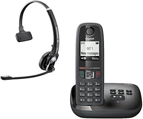 Gigaset AS405 A - Teléfono inalámbrico, color negro, DW Pro 1 Gap: Amazon.es: Electrónica