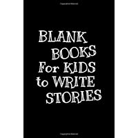 Blank Books For Kids To Write Stories: 6 x 9, 108 Lined Pages (diary, notebook, journal, workbook)