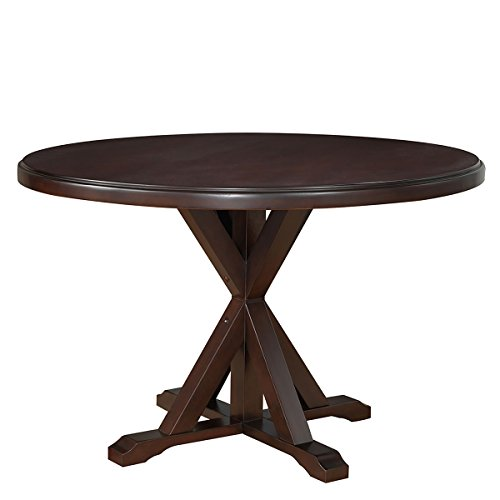 espresso pedestal table - 9
