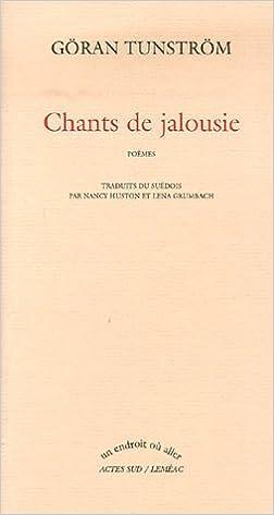 Téléchargement Chants de jalousie epub, pdf