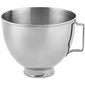 KitchenAid Stainless Steel Bowl K45SBWH, 4.5-Quart