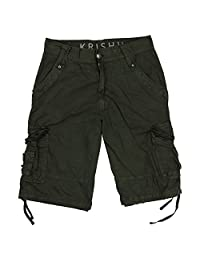 Krishh Men's Premium Cargo Shorts