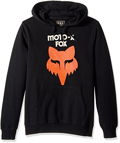 Fox Men's Legacy Heritage Pullover Fleece, Black, Medium