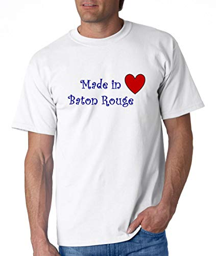 MADE IN BATON ROUGE - City-series - White T-shirt - size XXL]()