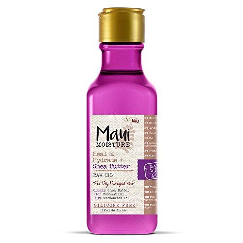 Maui Moisture Heal & Hydrate + Shea Butter Raw Oil, 4.2 - Hair Shea Mist Butter