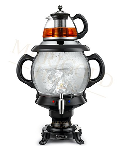 RAYA Electric Glass Samovar Tea Maker