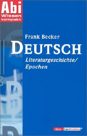 Deutsch Literaturgeschichte/Epochen