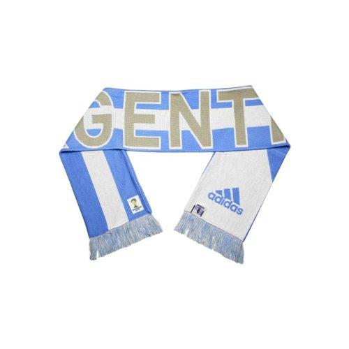 Adidas Argentina World Cup 2014 Scarf Light Blue
