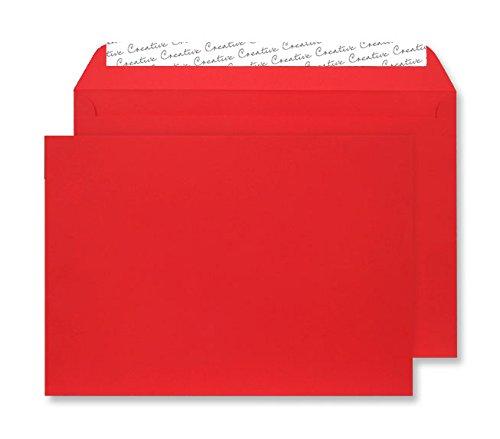 Creative Senses C5 162 x 229 mm haftklebend und Seal Umschlag – Rot (25 Stück) B00LV7FO8O | Attraktives Aussehen