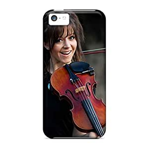 Eco-friendly Packaging mobile phone carrying skins Eco-friendly Packaging case iphone 5c - music lindsey stirling