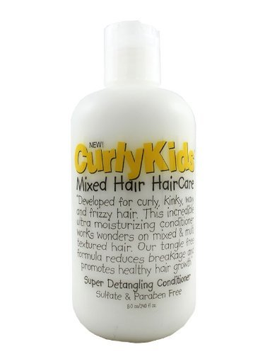 CurlyKids Mixed HairCare Super Detangling Conditioner 8oz