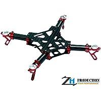 ZealHeli CNC Quadcopter Kit (Red) - Blade Nano QX