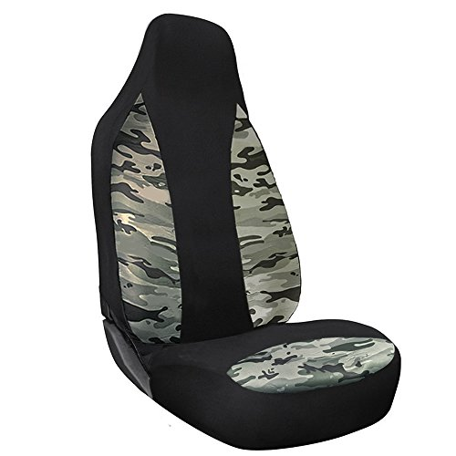 high back seat covers camo - 7