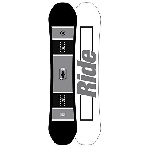 Ride White Snowboard Boots (Ride Crook Snowboard 2018 Black Grey White 155)