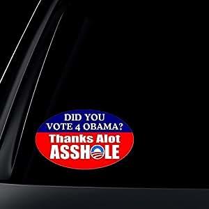 vote for obama thanks asshole