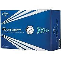 Callaway 2019 HEX Tour Soft Golf Balls, (One Dozen) White