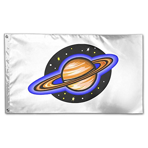 garden flag planet moon yard