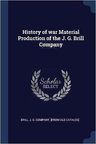 Hardback History of the J Brill Company G