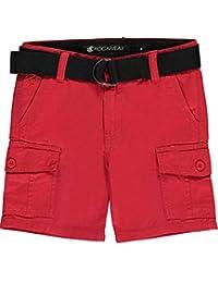 "Rocawear Little Boys' ""Twill Basics"" Belted Cargo Shorts"