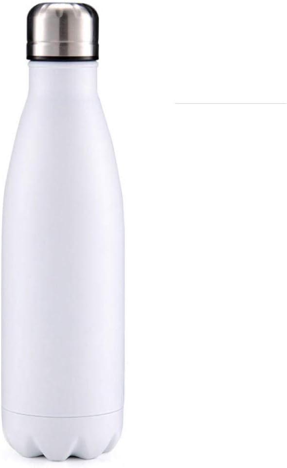 Lankfun Taza de Agua con Aislamiento al vacío de Acero Inoxidable Seguro y no tóxico, Actividades Deportivas al Aire Libre portátiles, Taza de Agua Deportiva a Prueba de Fugas-L_500ml