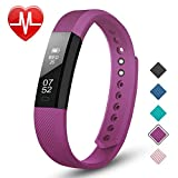 LETSCOM Fitness Tracker, All- Day Activity Tracker, Sleep Quality Monitor, Heart Rate Monitoring Smart Watch, Waterproof IP71 Pedometer Watch with Calorie Counter, Smart Bracelet for Men, Women, Kids