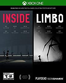 INSIDE / LIMBO Double Pack - Xbox One: 505 Games     - Amazon com
