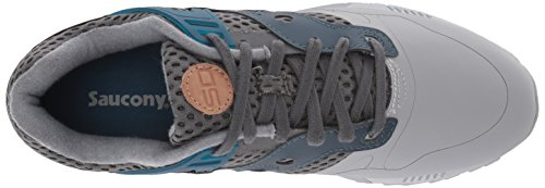 Sneaker Grey blue 01 Saucony Grey Ht Uomo Sd 70388 Grid Blue qTPTtx0