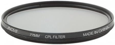 Multi-Coated Digital Lens Filter 77mm CPL Inov8 Circular Polarising
