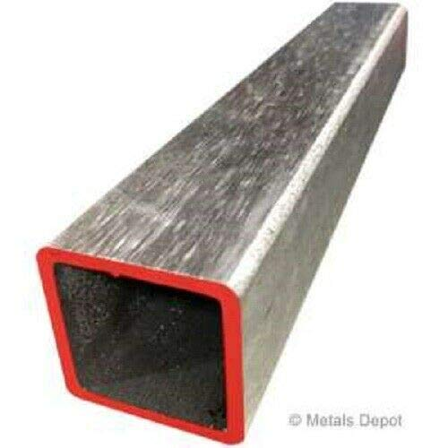 """2/'/' x 2/'/' Stainless Square Tube 12/'/' Length .120/"""" wall"""