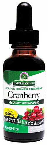 Nature's Answer Alcohol-Free Cranberry, 1-Fluid Ounce Review
