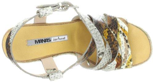 Manas taormina Fashion Sandals Womens Braun (Deserto) yH323RSJc