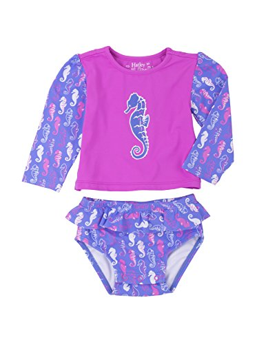 Hatley Baby-Girls Baby Baby Rash Guard Set