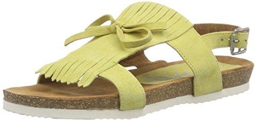 Gelb Sandale Damen XYXYX Sun Knöchelriemchen fwgHOWaq
