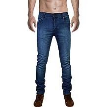 SkylineWears Men's Skinny Slim Fit Denim Jeans Pants Trousers