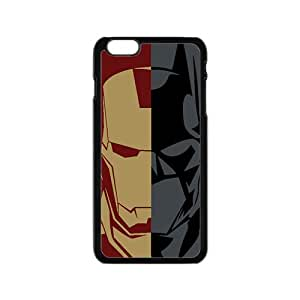 Batman and Iron Man Cell Phone Case for Iphone 6