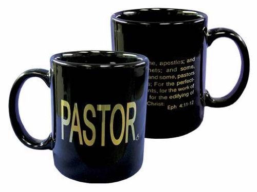 Pastor Ephesians 11 12 Gift Mug