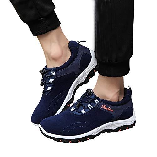 De Zapatos Aire Los De Toamen De nbsp;Zapatillas Libre Flock De MontañA Hombres De Impermeables Senderismo Moda Azul Botas Deporte Al wRaxxWt