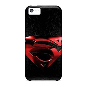 Faddish Superman Case Cover For Iphone 5c