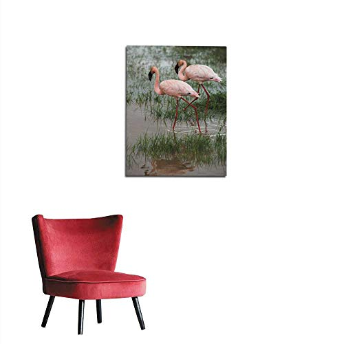 longbuyer Photo Wall Paper Flamingo in Tanzania Africa Mural 20