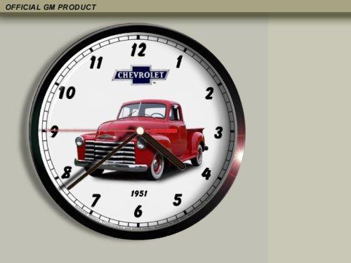 (1951 Chevrolet Chevy Pickup Truck Wall Clock E034)
