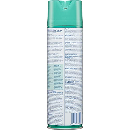 CLOROX-38504 Disinfecting Spray, Fresh Scent, Commercial Solution, 19-Ounce Bottles, Case of 12 (228 Ounces)