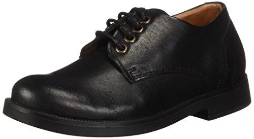 Vince Camuto Boys' KALB Uniform Dress Shoe, Nero, 10 Medium US - Leather Nero Footwear