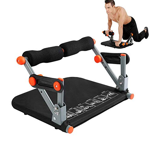 LIJJY Sport Core Ab Machine, Smart Fitness Equipment 9 In 1 Ab Trimmer Total Body Workout Exercise Machine For Gym Home…