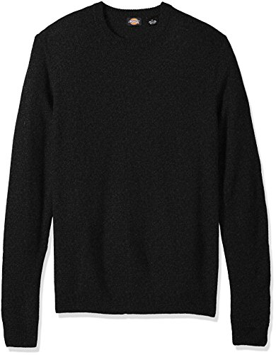 Dickies Pepper (Dickies Men's Big and Tall Solid Jersey Crew, Pepper, 2XB)