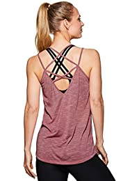 Active Women's Strappy Flowy Yoga Tank Top