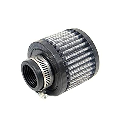 K&N Vent Air Filter/ Breather: High Performance, Premium, Washable, Replacement Engine Filter: Flange Diameter: 1.25 In, Filter Height: 2.5 In, Flange Length: 0.625 In, Shape: Breather, 62-1380: Automotive